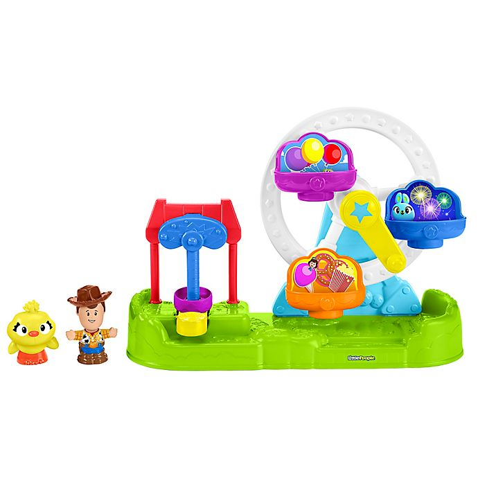 Fisher Price Pixar Toy Story 4 Little People Ferris Wheel Playset Buybuy Baby