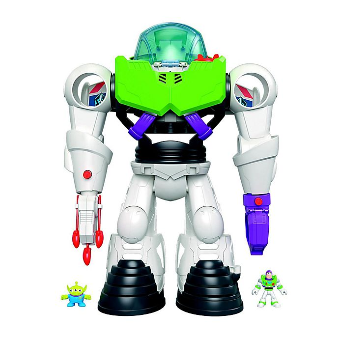 Alternate image 1 for Fisher-Price® Imaginext® Pixar® Toy Story 4 Buzz Lightyear Space Ranger Playset