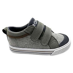 Boy's Casual Strap Shoes in Grey