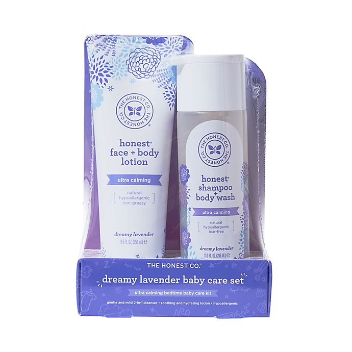 Alternate image 1 for The Honest Company® 2-Piece Shampoo & Lotion Set in Lavender