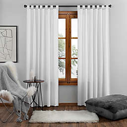 UGG® Riley 84-Inch Tab Top Window Curtain Panel in Bright White