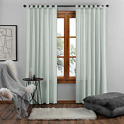 UGG® Riley 108-Inch Tab Top Window Curtain Panel in Agave