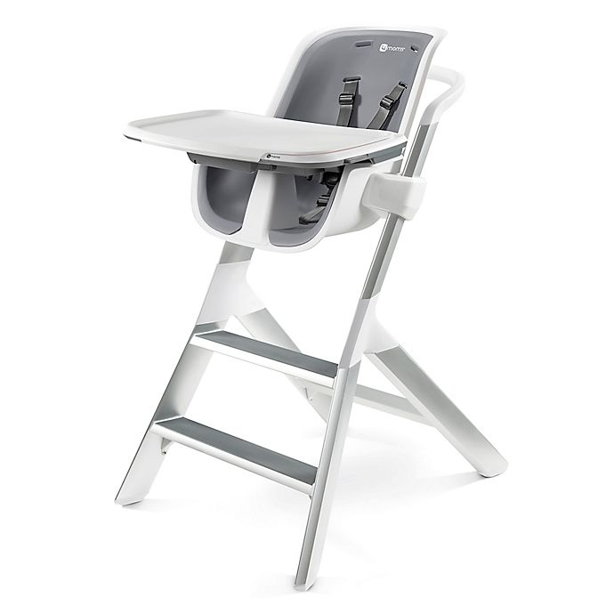 Alternate image 1 for 4moms® High Chair in White/Grey