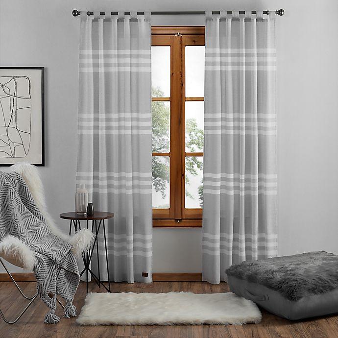 Alternate image 1 for UGG® Riley Stripe Window Curtain Panel