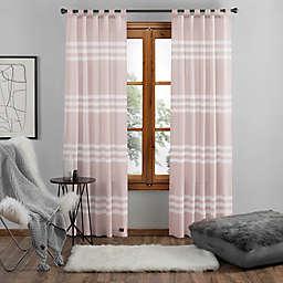 UGG® Riley Stripe 95-Inch Tab Top Window Curtain Panel in Sunset