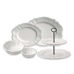 Modern Farmhouse Home Serveware Collection in White