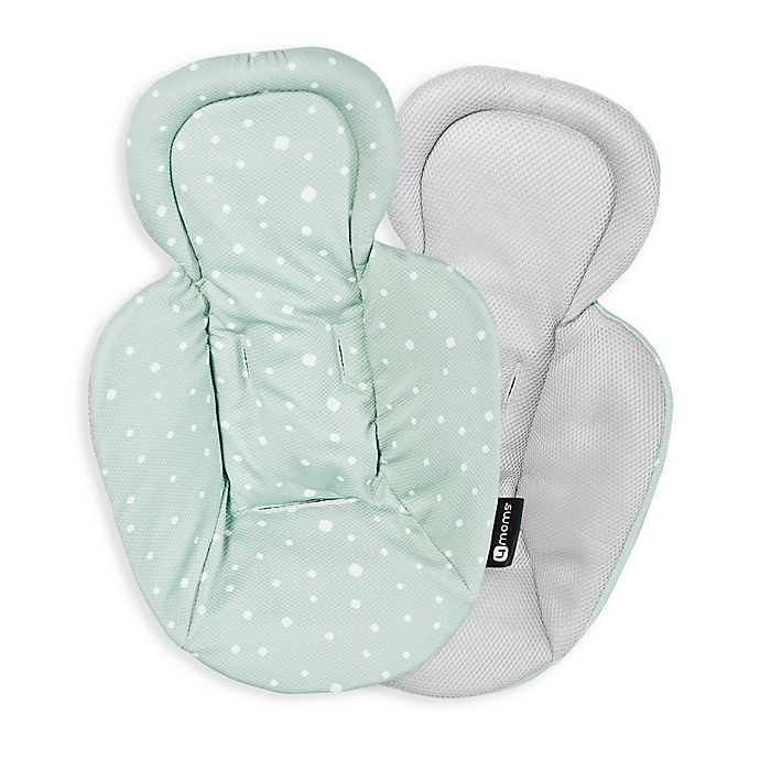 Alternate image 1 for 4moms® Newborn Reversible Insert in Dark Grey/Aqua