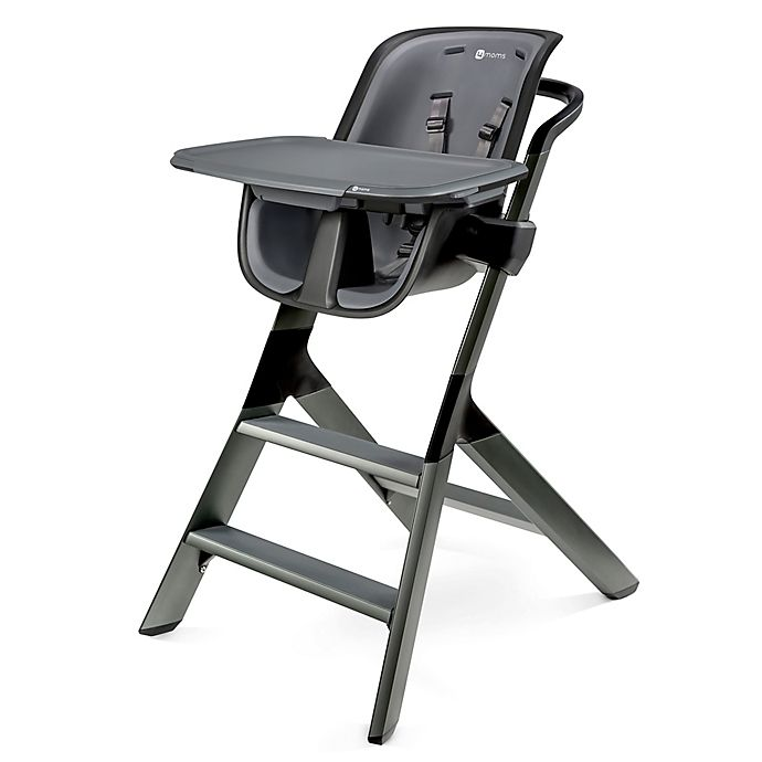 Alternate image 1 for 4moms® High Chair in Black/Grey