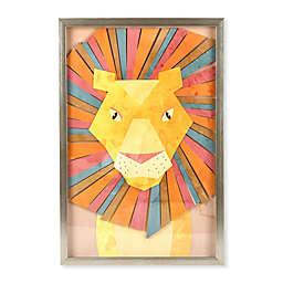 Marmalade™ Vibrant Lion 16-Inch x 24-Inch Shadow Box Wall Art