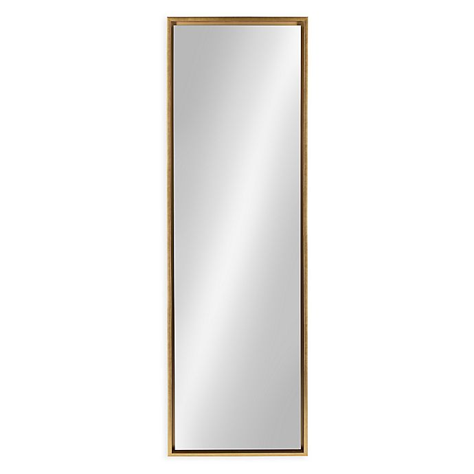 Laure Evans 18 Inch X 58, White Floor Mirror With Easel