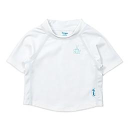 i play.® Short Sleeve Rashguard in White