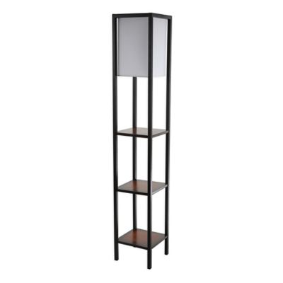 Safavieh Rista 3 Shelf Floor Lamp With