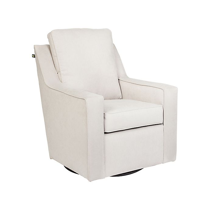 Alternate image 1 for The 1st Chair™ Ellis Swivel Glider Chair in Stripling