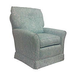 The 1st Chair™ Tate Swivel Glider in Tiffany