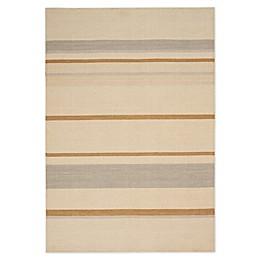 Calvin Klein Home Plateau 5'3 x 7'5 Area Rug in Sandwash