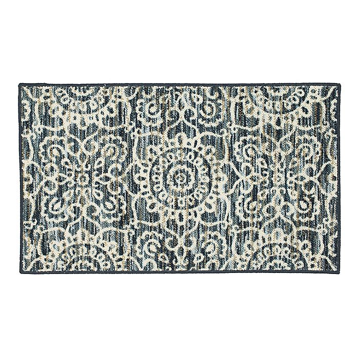 Alternate image 1 for Mohawk Home Richmond Medallion 1'8 x 2'10 Accent Rug in Blue