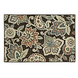 Mohawk Home® Richmond Jacobean Washable Rug in Black