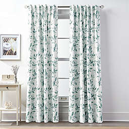 Teal Curtain Panels Bed Bath Beyond