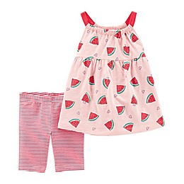 carter's® Watermelon Top and Short Set in Pink