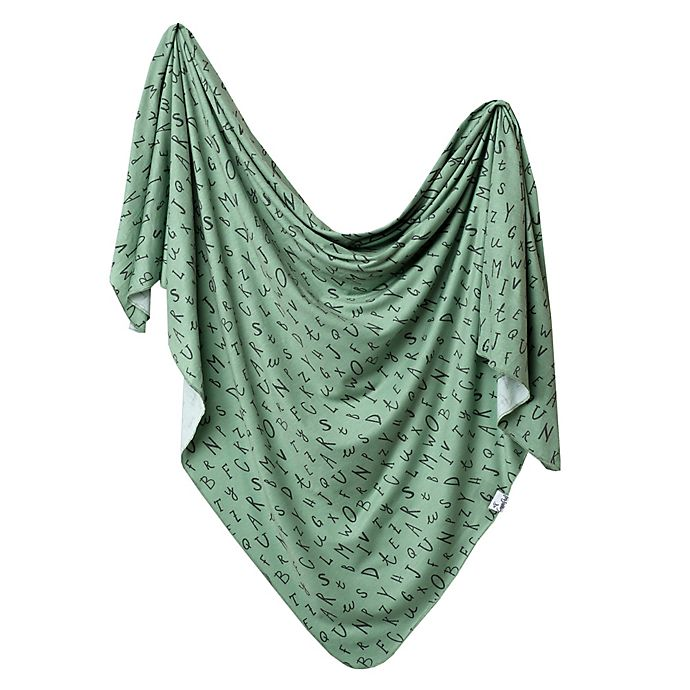 Alternate image 1 for Copper Pearl™ Poe Knit Swaddle