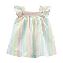OshKosh B'gosh® Striped Dress with Diaper Cover