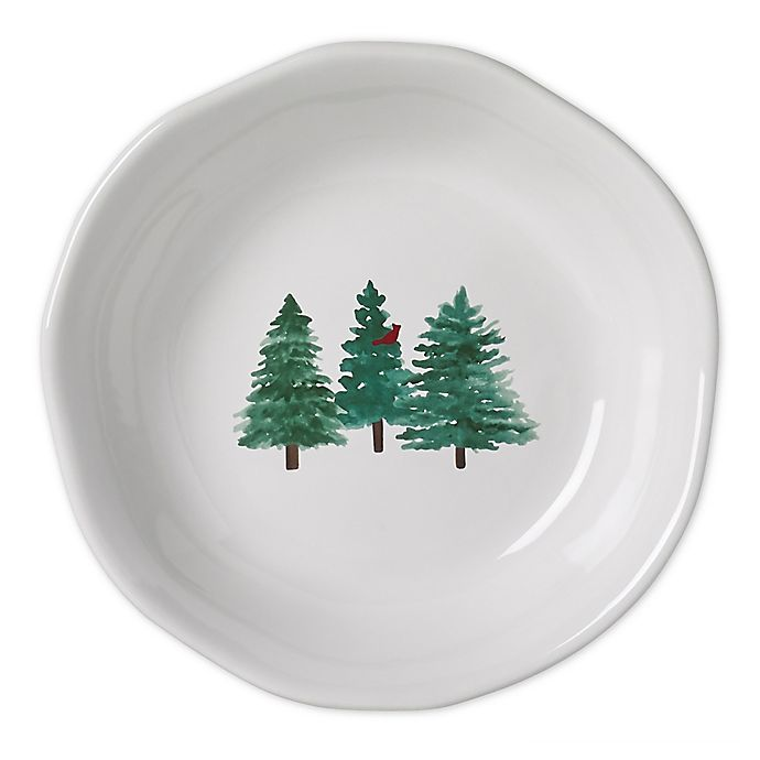 Alternate image 1 for Modern Farmhouse Home™ Christmas Dinner Bowls (Set of 2)