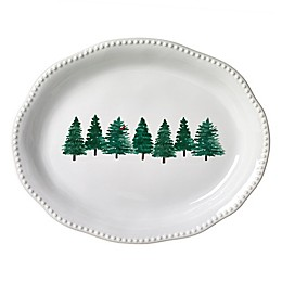 Modern Farmhouse Home™ Christmas 18-Inch Oval Platter