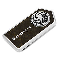 Game Of Thrones Targaryen Filigree Money Clip in Silver