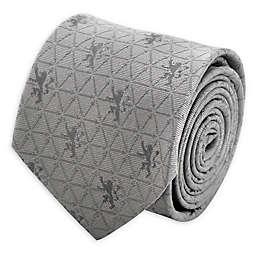 Game Of Thrones Lannister Geometric Sword Men's Tie in Grey