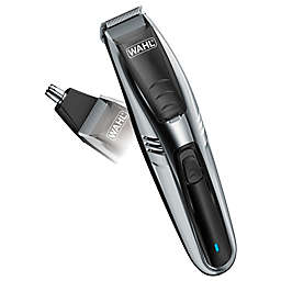 Wahl® 2-in-1 Lithium Ion Vacuum Trimmer in Chrome/Black