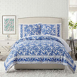 Maker's Collective Blue Bird Duvet Cover Set