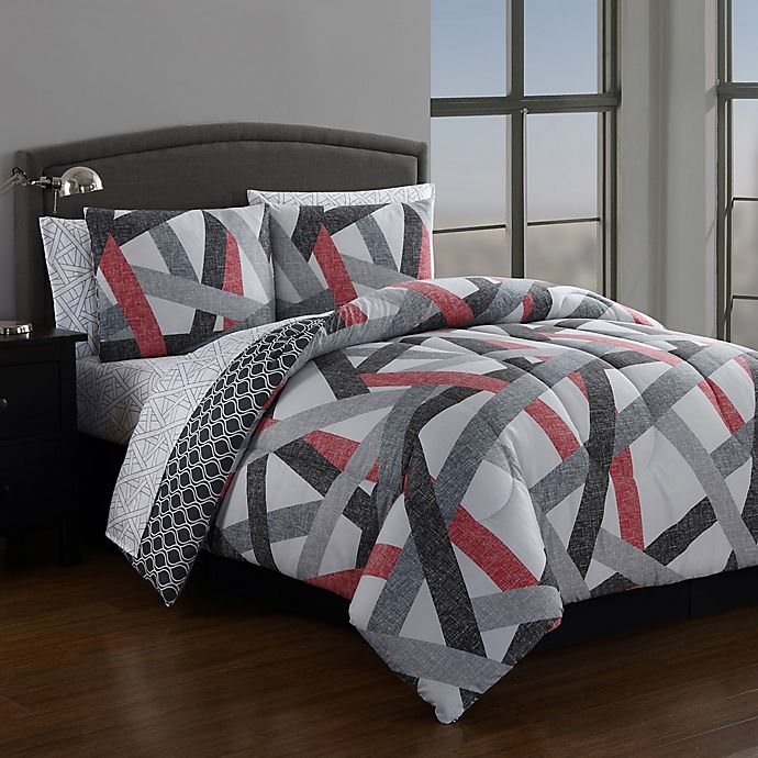 Alternate image 1 for Soma Reversible Comforter Set