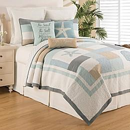C&F Home™ Driftwood Shores Reversible Quilt Set