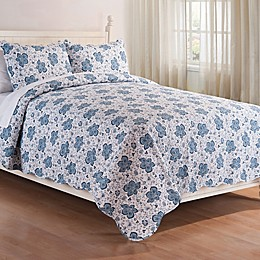 C&F Home™ Chesapeake Bay Reversible 3-Piece Quilt Set in Blue