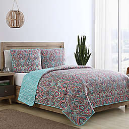 VCNY Home Chora Reversible Quilt Set