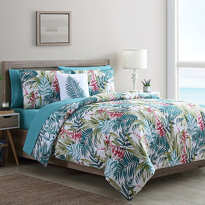 Alternate image 1 for VCNY Home Cooper Reversible Twin XL Comforter Set