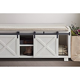 Bee & Willow™ Home Bench in White Wash