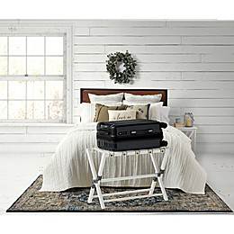 Bee & Willow™ Home Luggage Rack in White Wash