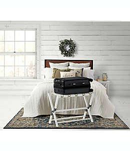 Portaequipaje Bee & Willow™ Home en blanco deslavado