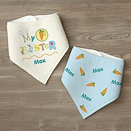 My First Easter Personalized Bandana Bib Set