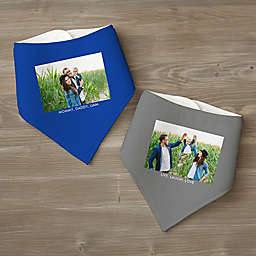 Picture Perfect Personalized Bandana Bib Set