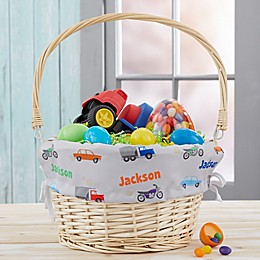 Modes of Transportation Personalized Easter Basket