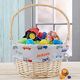 Modes of Transportation Personalized Easter Basket