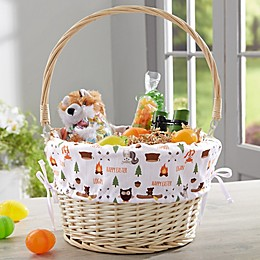 Woodland Adventure Personalized Easter Basket
