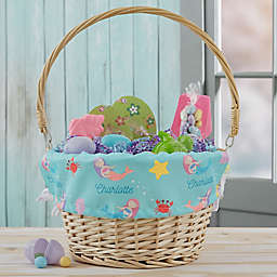 Mermaid Adventure Personalized Easter Basket