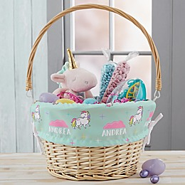 Unicorn Adventure Personalized Easter Basket