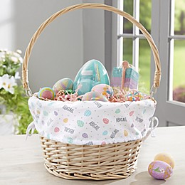 Easter Egg Personalized Easter Basket