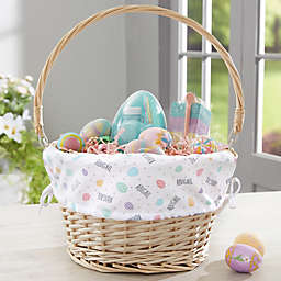 Easter Egg Personalized Easter Basket