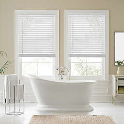 Real Simple® Faux Wood Cordless Shade in White