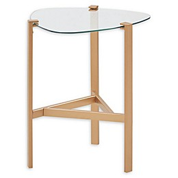Madison Park BelAire Accent Table in Gold